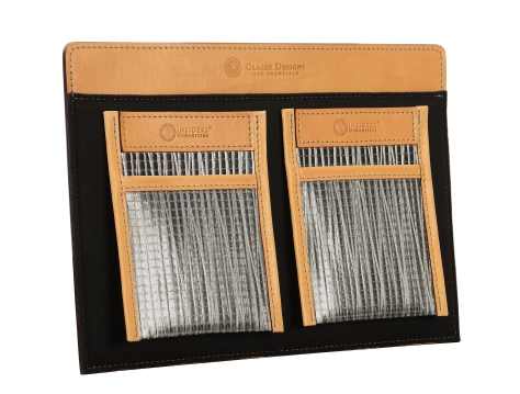 Leather-Padded-Panel-with-shirt-pocket-organizers