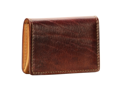 Hand-grained,-hand-colored-sienna-5-Pocket-Card-Holders
