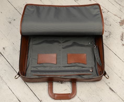 Hand-burnished-espresso-Soft-Attache;-17-x-12-x-4'-topdown