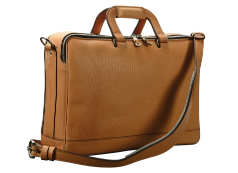 Hand-grained,-natural-Soft-Attache;-16-x-10-x-4'-back