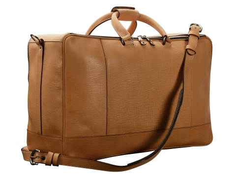 Hand-grained-natural-Square-Duffel;-20-x-13-x-8'-back