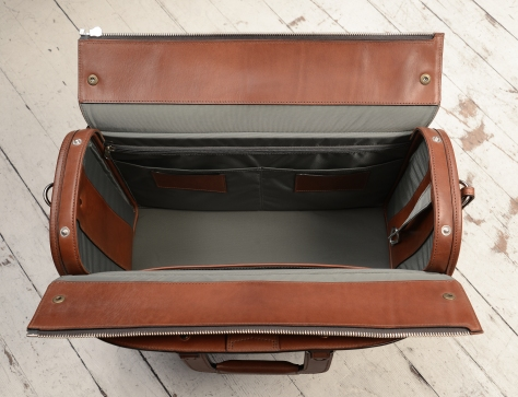 Hand-burnished-espresso-Litigation-Deal-Bag;-19-x-13-x-8'-topdown
