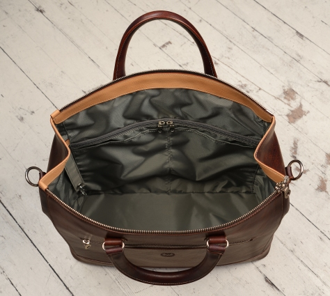 Hand-grained,-hand-colored-sienna-Club-Bag;-17-x-12-x-4'-topdown2