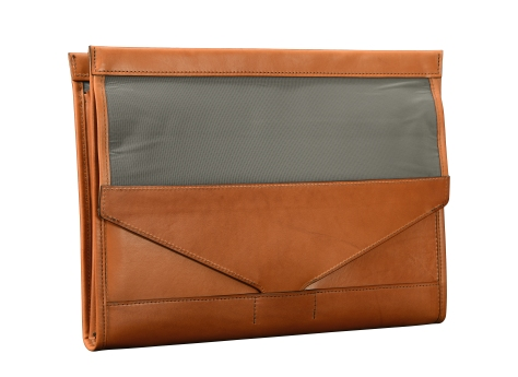 Hand-burnished-chestnut-All-Leather-Flapover-Folderholder-back-open