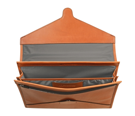 Hand-burnished-chestnut-All-Leather-Flapover-Folderholder-topdown1