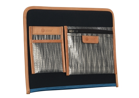 Hand-grained-natural-leather-Padded-Panel-with-california-blue-lining-and-shirt-pocket-organizers-back