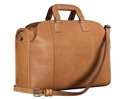Hand-grained-natural-Transaction-Bag;-19-x-12-x-6-back