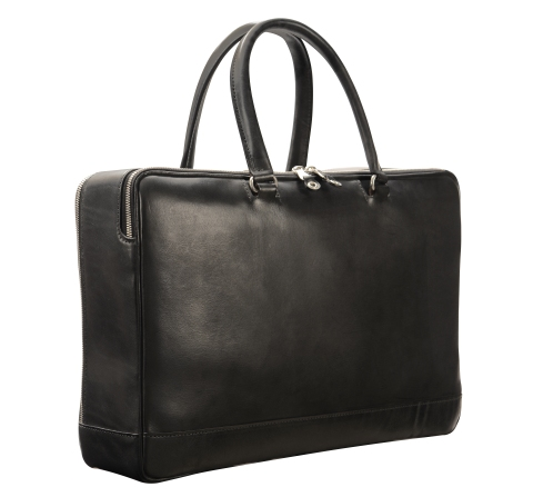 Hand-burnished,-black-round-handles-Portfolio;-16-x-10-x-4'-back
