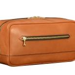 Hand-burnished-chestnut-All-Leather-Teal-Travel-Kit
