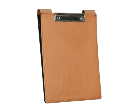 Leather-surface-Writing-Clipboard-with-hand-colored-espresso-fiber-inside2