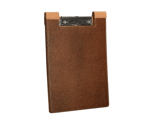 Leather-surface-Writing-Clipboard-with-hand-colored-espresso-fiber