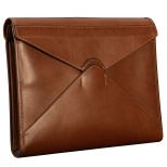 Hand-burnished-espresso-All-Leather-Flapover-Folderholder-with-california-blue-lining.1