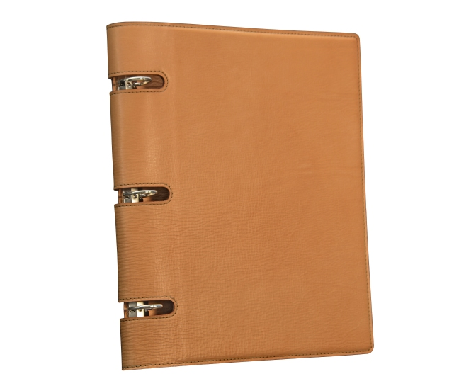 Natural-all-leather-3-ring-Presentation-Binder.1