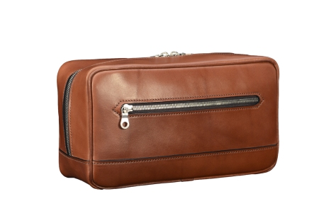Hand-burnished-espresso-All-Leather-Travel-Kit
