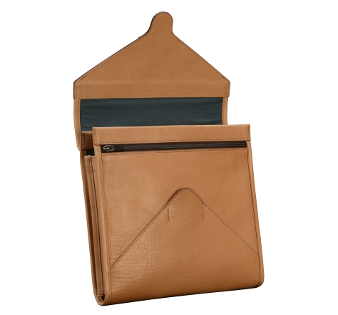 Natural-leather-iPad-Portfolio;-10.5-x-10-2